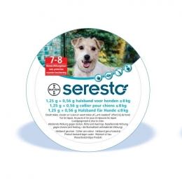 Seresto halsband voor kleine honden tot 8kg (doodt vlooien, teken en luizen)