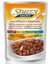 Stuzzy Dog Food Pouch Kalf in Gelei 100gr