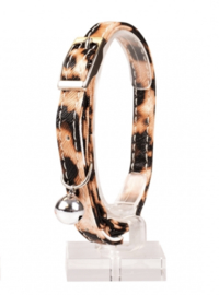 Kattenhalsband Luipaard Print 2 20-30cm/10mm