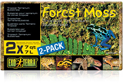 Exo Terra Forest Moss 7l 2-Pack
