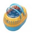 Transportbox s blauw/oranje 28x20x18cm