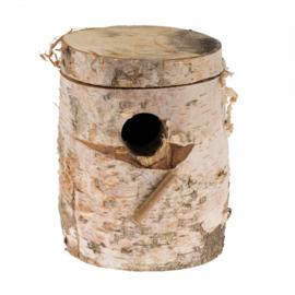 Berkenblok Klein - Parkiet - 19 x 10 x 3,8cm