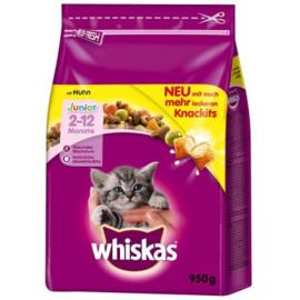Whiskas Junior Kip Melk 950 g