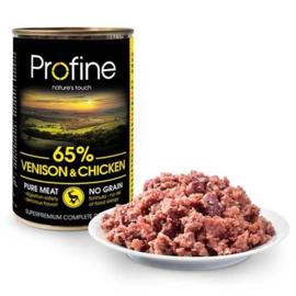 Profine Pure Meat Hert/Kip Graanvrij 400gr
