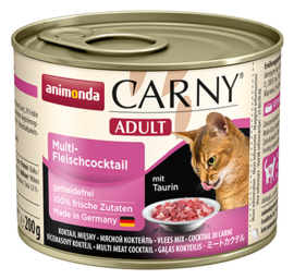 Carny Adult Multi Meat 200gr