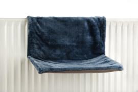 Radiatorhangmat Blauw 46x31x24cm