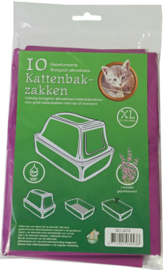 Bio-kattenbakzak Lavendel Extra Large