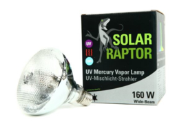 Solar Raptor 160Watt UVB Kwikdamplamp