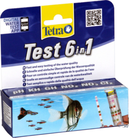 Tetra Test 6 in 1 (25 teststrips)