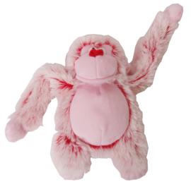 Harige Aap Hondenspeelgoed Roze 22cm