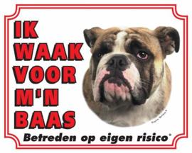 Waakbord Engelse Bulldog