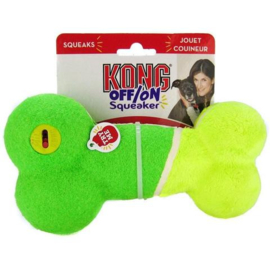 Kong Squeaker Bone On/Off Medium Assorti