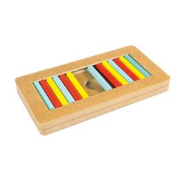 Slide 'N Snack Puzzle - Meerkleurig
