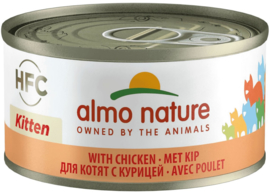 Almo Nature Kitten met Kip 70 Gr