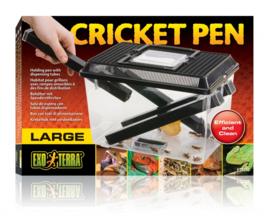 Exo Terra Cricket Pen / Krekelbak met verdeelkokers - Large