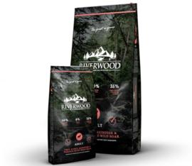 Riverwood Adult Reindeer, Venision & Wild Boar Graanvrij 2kg