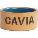 Cavia eetbak steen bruin 12cm