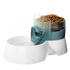 Ebi Pet Feeder 2 in 1 Grijs