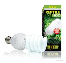 Exo Terra Reptile UVB100 Tropische Terrariumlamp 25W