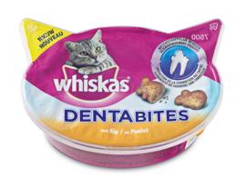 Whiskas Dentabites met Kip 40 gram