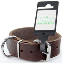 Halsband Vetleer Bruin 35mmX45cm