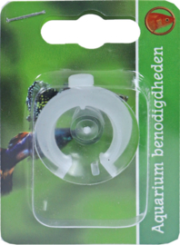 Zuignap met Klem 20-24mm