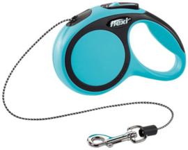 Flexi Rollijn New Comfort M Cord Blauw 5 m