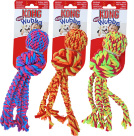 KONG  Wubba Weaves rope small, assorti