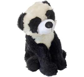 Pluche Panda met Piep 23cm