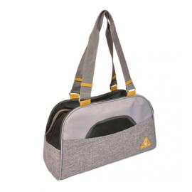 Promenade Paris Pet Bag Casual Grijs 44x18,5x25,5cm
