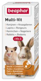 Multi-vit konijnen en knaagdieren 20ml