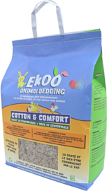Ekoo Animal Bedding 'Cotton and Comfort' - 30L