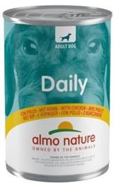 Almo Nature Daily Blik Hond Kip 400gr
