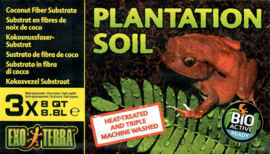 Exo Terra Plantation Soil 8,8l 3-pack