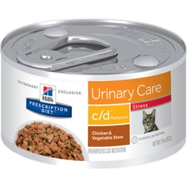 Hill's Feline Urinary Care C/D Chicken Blik 156g