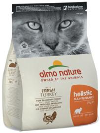 Almo Nature Holistic Kat Adult Kalkoen 2kg