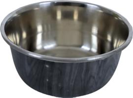 Hondenbak RVS deco grijs, 950 ml