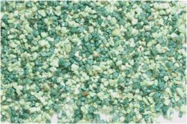 Aquariumgrind Lux Melange, Groen 6 tot 8mm, 0.9kg