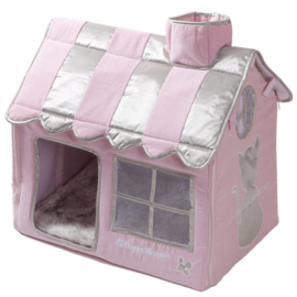 Happy House Cat Villa Roze 52x36x49cm