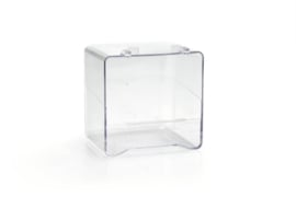 Badhuisje volledig transparant 14x11x13cm