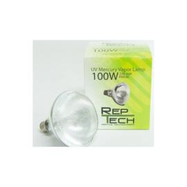 Reptech UV Kwikdamplamp 100W
