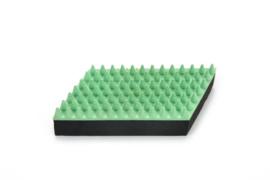 Rubber massageborstel klein Mint 13 cm