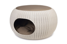 Curver Cozy Pet Home Creme 55x35cm