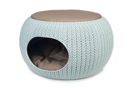 Curver Cozy Pet Home Lichtblauw 55x35cm