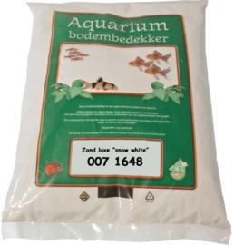 Aquariumzand Luxe Snow White 4kg