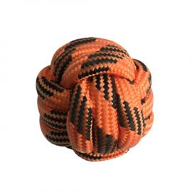 Floaties Touw Bal Oranje/Zwart 7x7x7cm - Drijvend