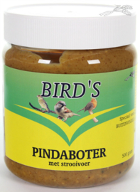 Pot Pindaboter met Strooivoer 500gr