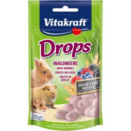 Vitakraft Drops Bosvruchten 75 gram
