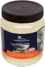 Vogelpindakaas met Noten en Insecten, 330 gram