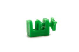 Luchtslang Klem Plastic Groen 27x6mm